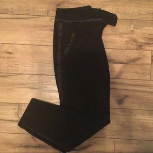 Loft Black Tuxedo Pants